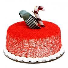 send a birthday gram send velvet cake 250 grams online by giftjaipur in rajasthan