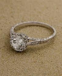 82 cushion cut vintage engagement ring bitecloth com