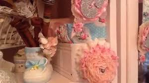 Shabby Chic Craft Room by My Shabby Chic Pink Studio Craft Room Youtube