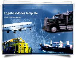 powerpoint logistics template sets