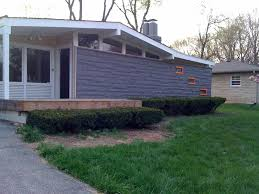 mid century modern exterior painting curb appeal pinterest