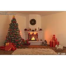 chambre photographie horizontal vinyl impression 3d chaud de noël décoration cheminée