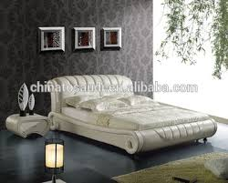 Leather Bed Frame Queen Upholstered Queen Headboard Genuine Leather Bed Buy Leather Bed