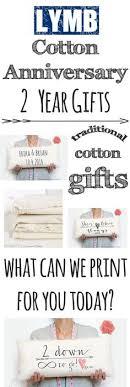 2 year wedding anniversary gift anniversary year 2 cotton pinteres