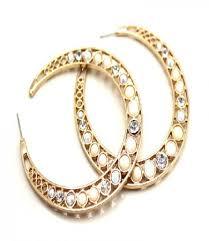 gaudy earrings designer fashion earrings online shopping india uberdiva