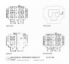 Veterinary Floor Plans Biological Research Facility Au