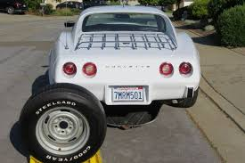 corvette spare tire dealer serviced survivor 1975 corvette