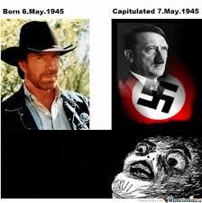 Chuck Norris Birthday Meme - right after chuck norris born by serkan meme center