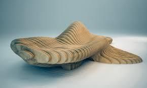 parametric design curvilign bench on behance