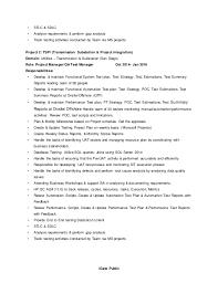 Resume Requirements Rachana Resume To Be Sent