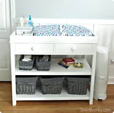 Changing Table Storage Baskets Changing Table With Storage Storage Bins Changing Table Storage