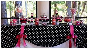 pink black and white decorations decorating of
