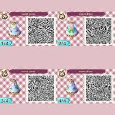animal crossing new leaf sweet dress qr code by nadalicious0 0