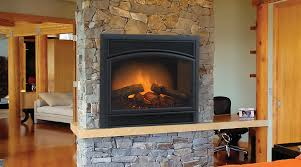 stone fireplace insert home decorating interior design bath