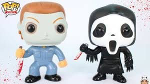 michael myers u0026 ghost face funko pop vinyl figure review