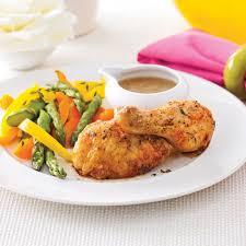 comment cuisiner une cuisse de poulet cuisses de poulet rôties simplissimes soupers de semaine