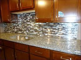 furniture glass tile sheets backsplash black mosaic kitchen