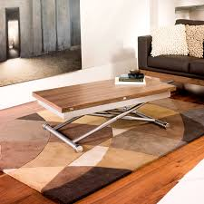 Uk Coffee Tables Rise Extending Coffee Table Walnut Dwell
