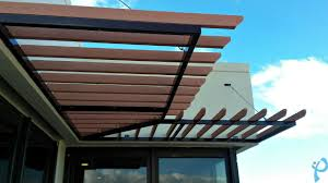 Pergola Plastic Roof by A New Plastic Wood Composite Pergola Installed Park Kent Mobilyaları