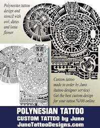 polynesian template tribal template owl