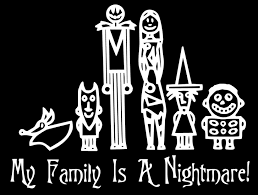 Jack Skellington Home Decor by Nightmare Before Christmas Family Car Decal Jack Skellington