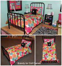 doll decor wrought iron doll bed doll diaries
