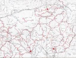 Map Of Middle Tennessee by Gsmnp Landforms