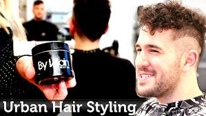 men u0027s hair inspiration urban u0026 edgy hairstyle curly texture