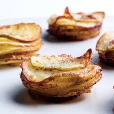 muffin pan potato gratins recipe