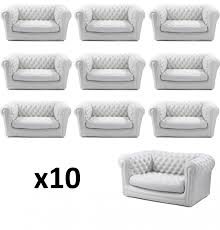 canapé chesterfield blanc location canapé blanc chesterfield gonflable