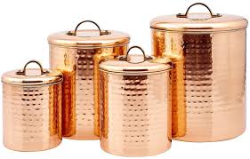 100 copper kitchen canister sets amazon com honey can do