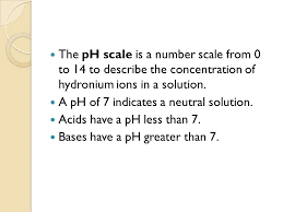 ph scale standard 5d students know how to use the ph scale to