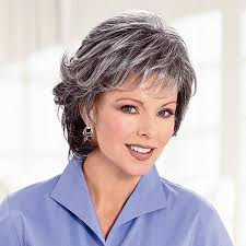 salt and pepper over 50 haircuts hairstyles for salt and pepper hair for women salt and pepper