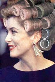 husband forced to sleep in hair rollers savannah made sure jim s curlers were nice and tight just the way