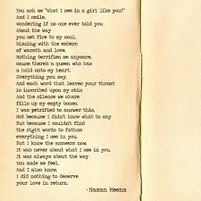 I Love Her Smile Quotes by Naman Meena Poetry