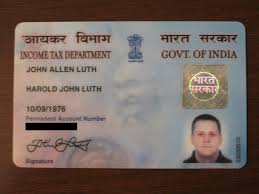 pan card mr and mrs luth go to india pan card privileges