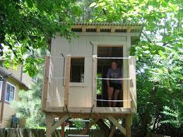 Simple Backyard Tree Houses by 25 Best Tree House Images On Pinterest Tree House Plans