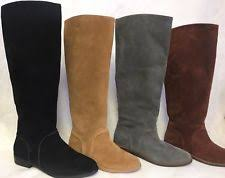 s ugg australia leather boots ugg australia gracen daley grey gray suede leather equestrian