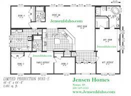 5 bedroom manufactured homes floor plans marlette floor plans esprit home plan