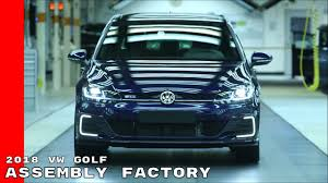 volkswagen germany factory 2018 vw golf production assembly factory youtube