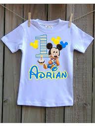 baby mickey 1st birthday baby mickey 1st birthday shirt 1st birthday shirt mickey mouse