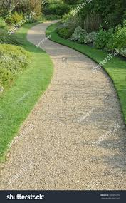 english garden gravel path autumn stock photo 136005716 shutterstock