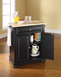 Black Kitchen Island Amazon Com Crosley Furniture Alexandria Cuisine Kitchen Island