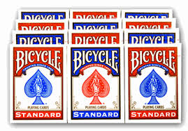bicycle cards standard index cards one dozen