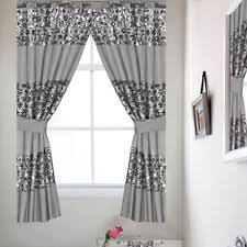 Gray Bathroom Window Curtains Bathroom Window Curtains Ebay