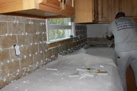 Installing Backsplash In Kitchen Tile Installation Monk S Home Improvements