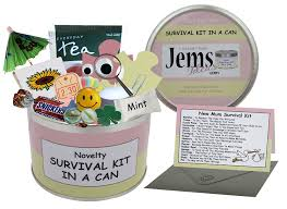 mum to be survival kit in a can humorous novelty fun gift new