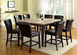 9 Pc Dining Room Set by Dining Tables 5 Piece Counter Height Dining Set Espresso 9 Piece