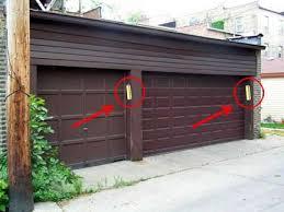 mezuzah garage door