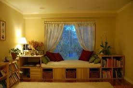 reading space ideas tranquil reading room design ideas with wooden bay window seat feat